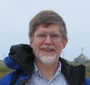 Head shot of author Jim Bond