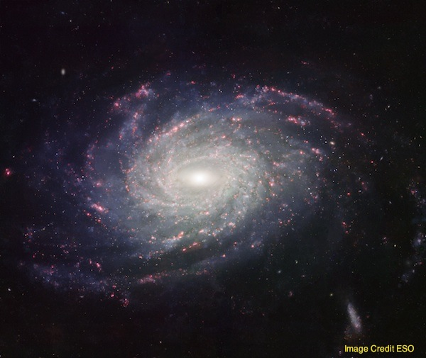 A distant view of spiral galaxy G-3, the destination of Na-3 and Nemo-3